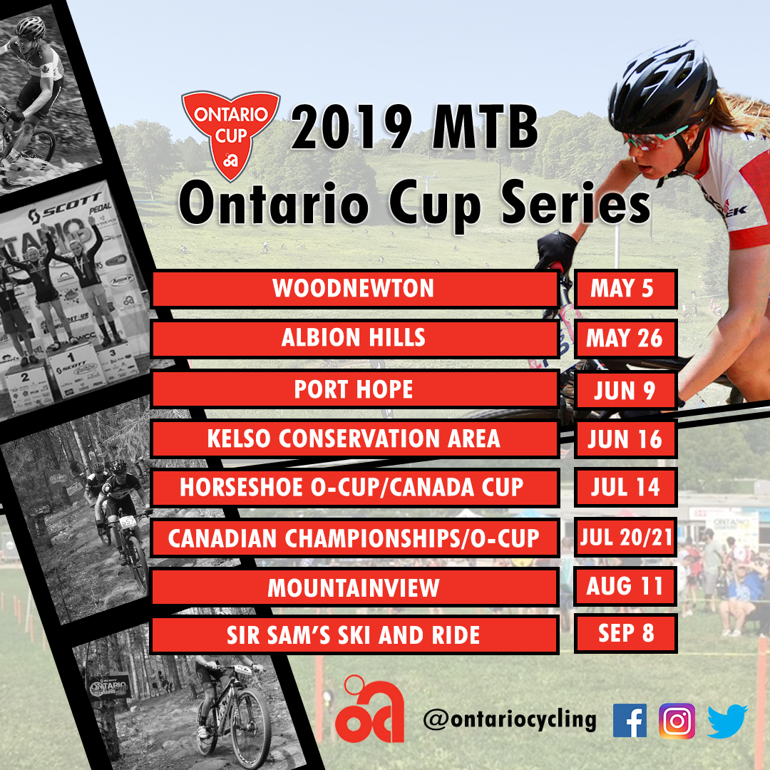 Calendrier Bmx 2019.2019 Mountain Bike O Cup And Provincial Schedules Available