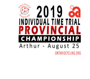 2019 Ontario Provincial Time Trial Championships @ Arthur Arena
